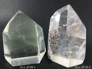ガーデン水晶ポイント 約50g No、4738