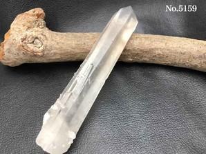 水晶ポイント(インド、プシュカル産)約130g No,5159   ログイン後の表示下代価格より30%OFFの大特価!