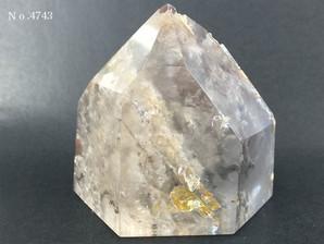 ガーデン水晶ポイント 約110g No、4743