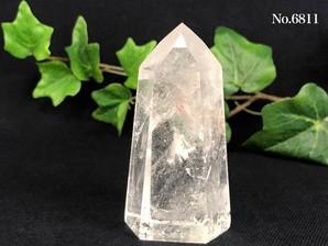 水晶ポイント 150g No,6811