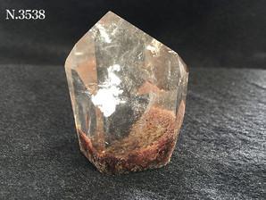 ガーデン水晶ポイント 80g No,3538