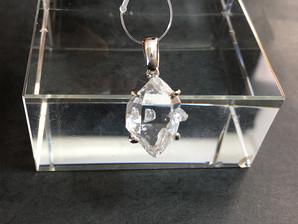ハーキマー水晶PT(SV925)3,5g No,4382
