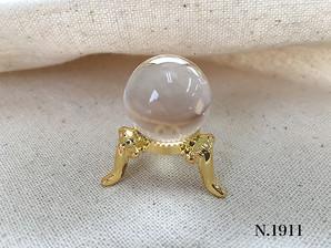 天然石丸玉 水晶 20mm