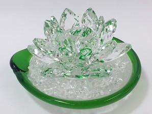 蓮サンキャッチャー浄化セット(緑)