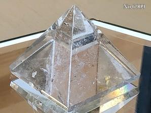 ヒマラヤ水晶ピラミッド 約40g No,6909