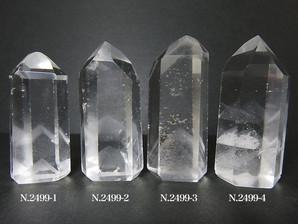 ファントム水晶ポイント 4~18g No,2499