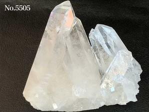 水晶クラスター(トマスゴンサガ産)220g No,5505