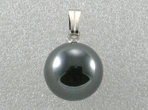 12mm丸玉PT ヘマタイト