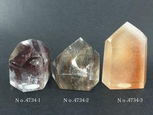 ガーデン水晶ポイント 約20g No、4734
