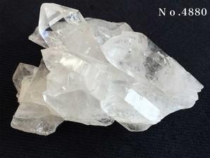 水晶クラスター  約90g No,4880