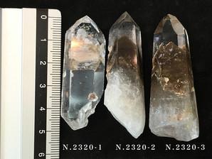 ファントム水晶ポイント(マロン)20g No,2320