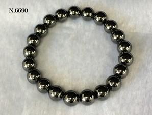 単色ブレス 磁気ヘマタイト No,6690