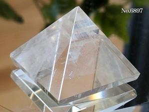 ヒマラヤ水晶ピラミッド 約20g No,6897