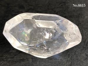 レインボー水晶フリーカット No,6615