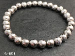 隕鉄(ギベオン)ブレス 6mm 約23~28g  No,4531