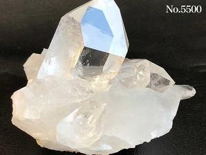 水晶クラスター(トマスゴンサガ産)210g No,5500