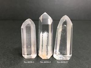 ファントム水晶ポイント 4~18g No,4659