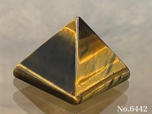 タイガーアイピラミッド No,6442
