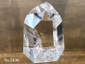 水晶ポイント 約90g No,5436