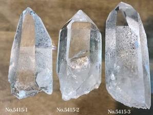 ナチュラル水晶ポイント 約50g No,5415