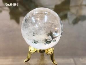 ヒマラヤ水晶丸玉 約70g No,6494