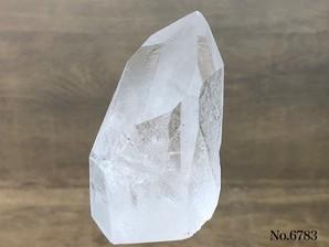 ナチュラル水晶ポイント底辺カット 約150g No,6783     ¥1,500⇒¥1,050【おまとめ割対象外】