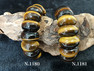 【ブレスレット(高品質)】タイガーアイバングル ブレスレット 約83.7g~82.5g  No,1181